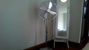 Sometimes a Fan is Better Than Aircon