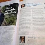 Steve's response for the June Money Magazine